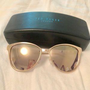 Ted Baker sunglasses - rose gold